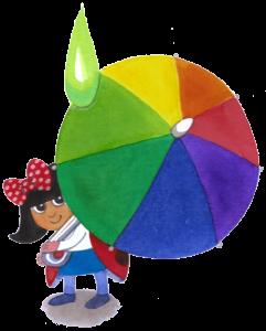 lienka s dáždnikom
