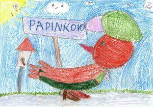 Papinkovo detská kresba