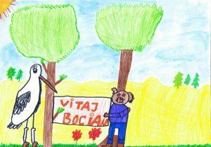 obrázok od detí časopis Vrabček