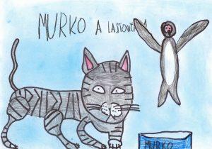 Zvedavý Murko časopis Vrabček