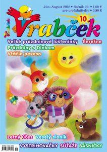 časopis Vrabček jún 2018 obálka