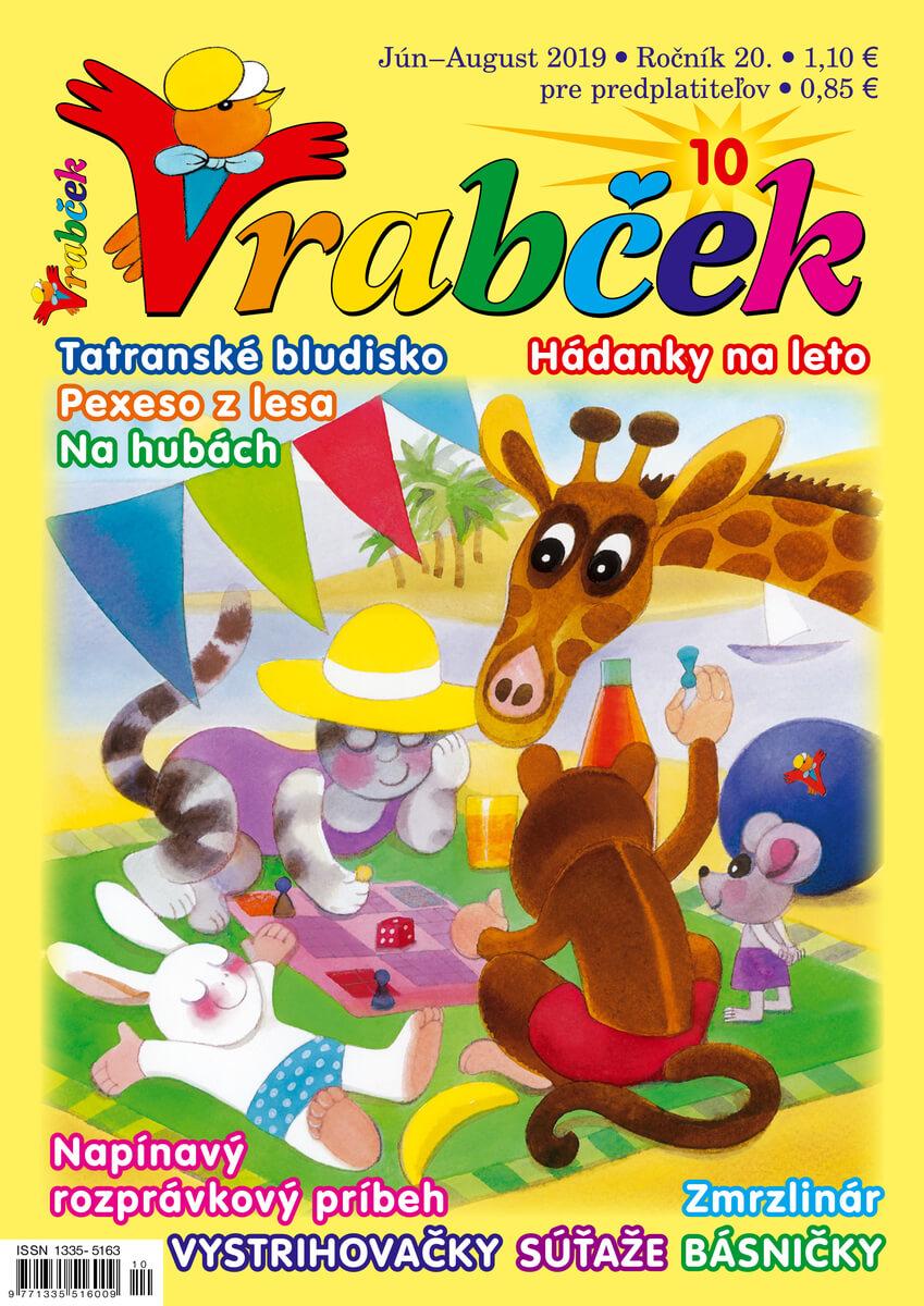 časopis Vrabček jún 2019