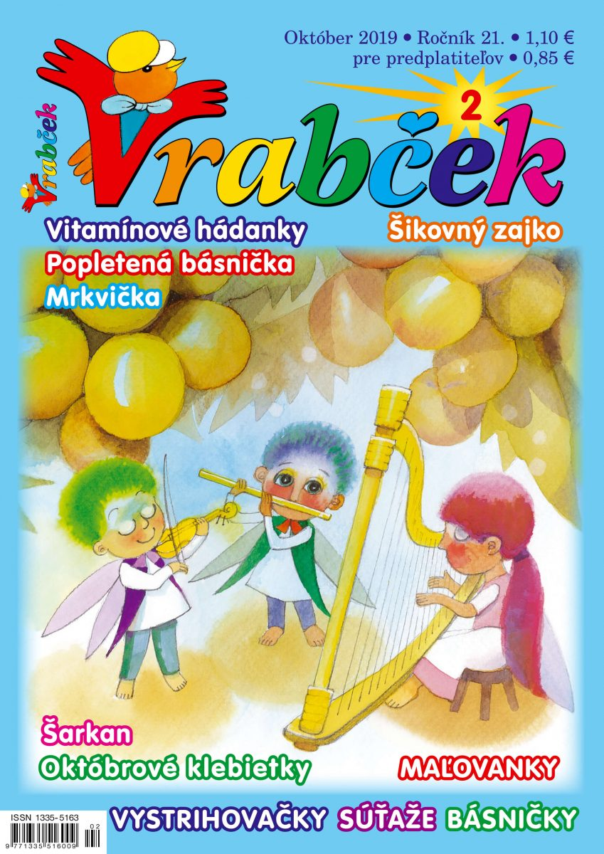 časopis Vrabček október 2019