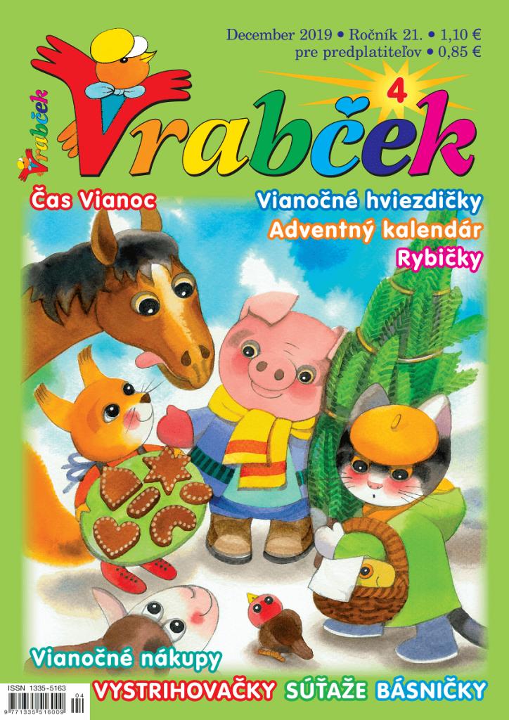 časopis Vrabček december 2019