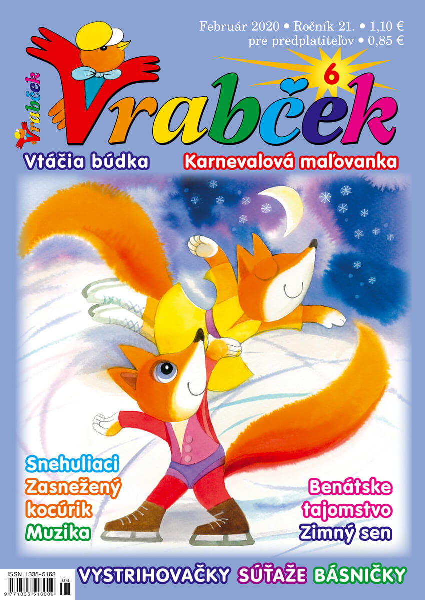 časopis Vrabček február 2020