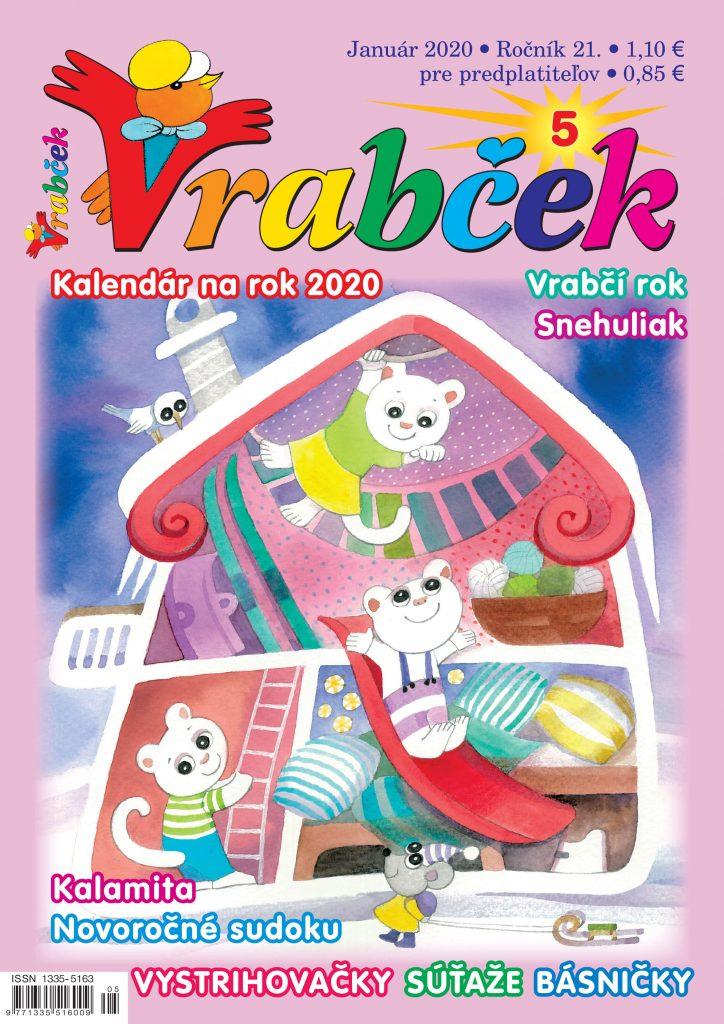 časopis Vrabček január 2020