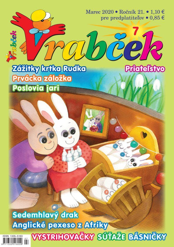 časopis Vrabček marec 2020