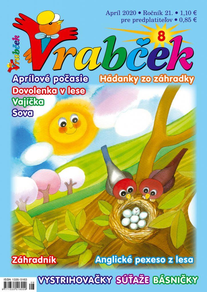 časopis Vrabček apríl 2020