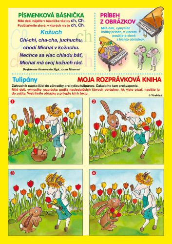 časopis Vrabček apríl 2021 rozprávková kniha