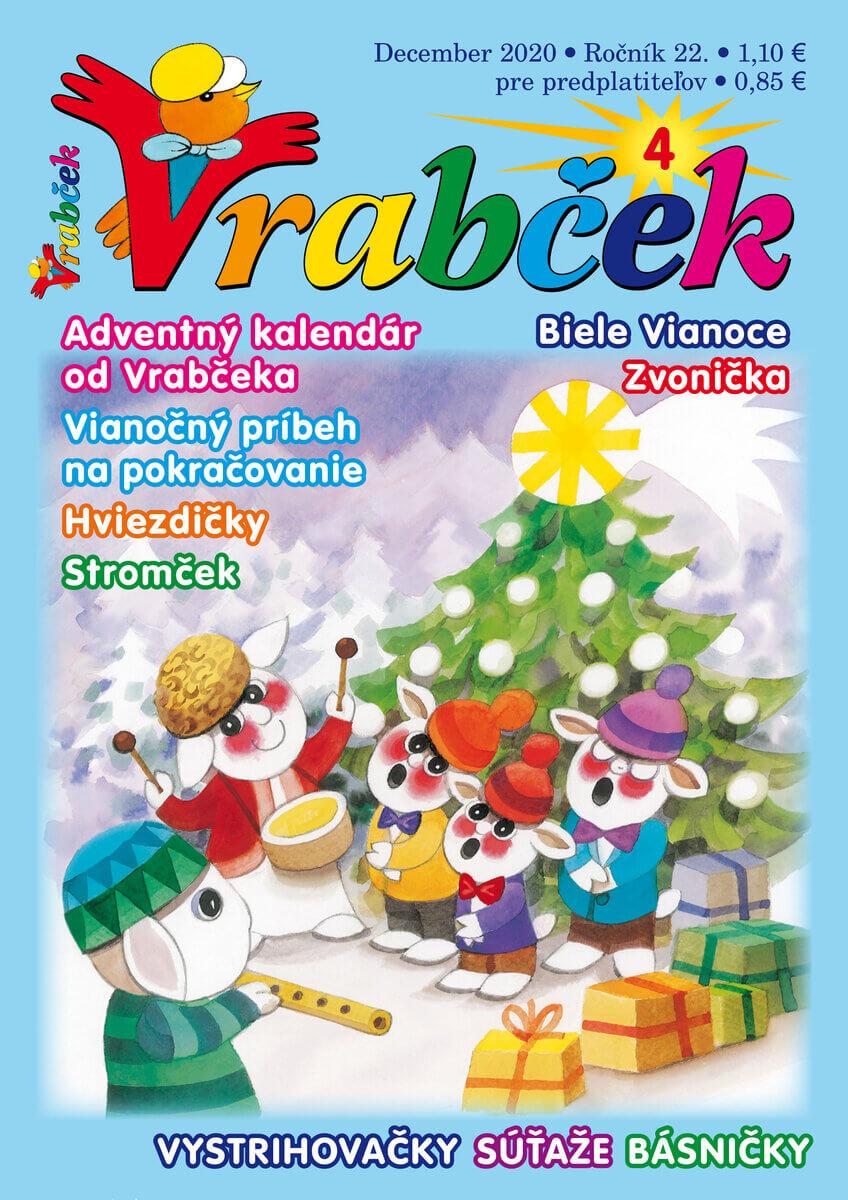 časopis Vrabček december 2020
