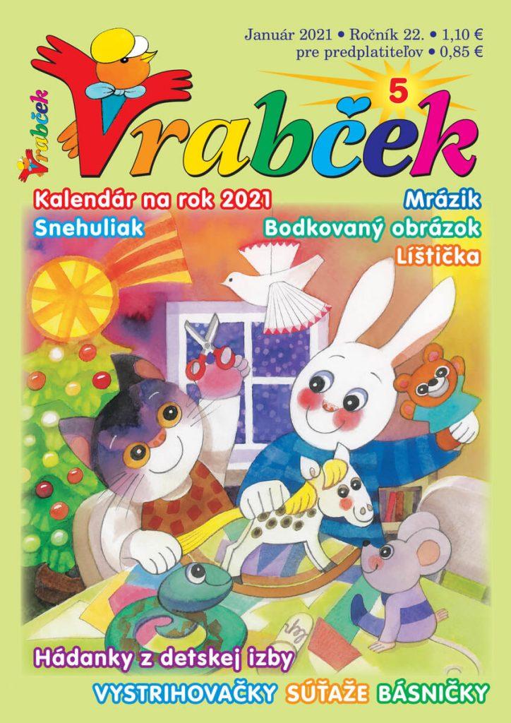 časopis Vrabček január 2021