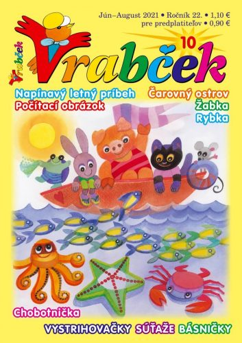 časopis Vrabček jún - august 2021