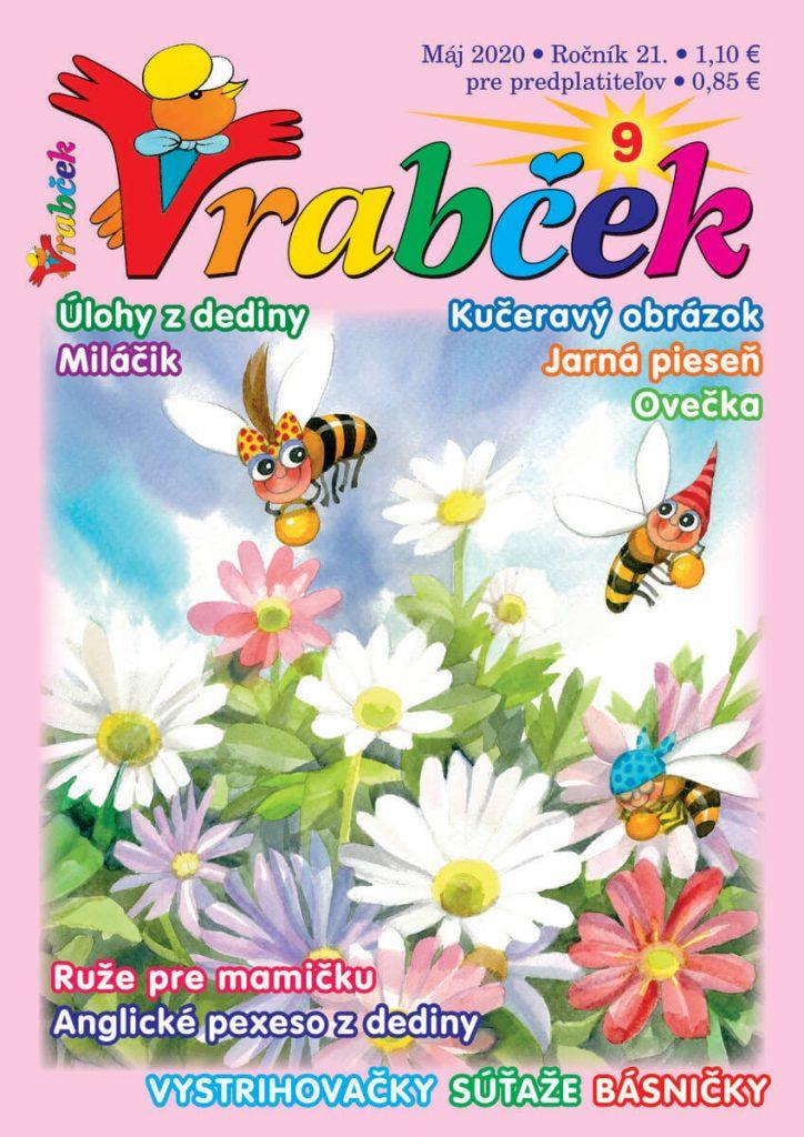 časopis Vrabček máj 2020