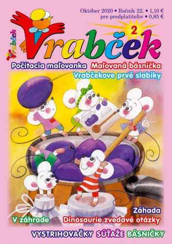 časopis Vrabček október 2020