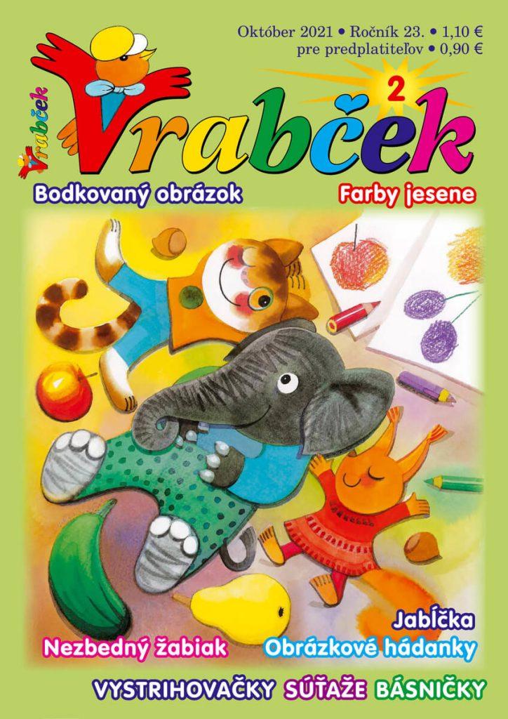 časopis Vrabček október 2021