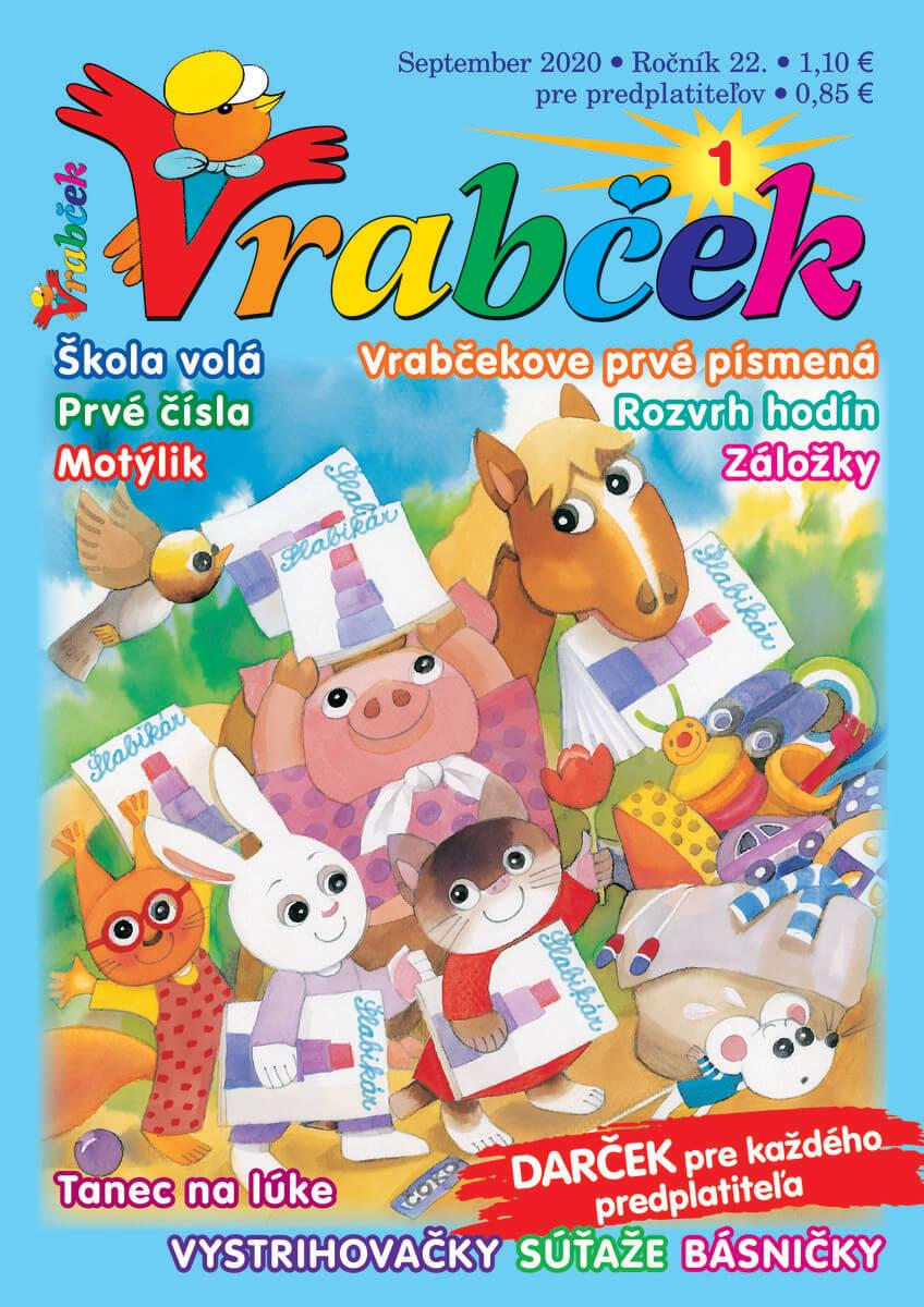 časopis Vrabček september 2020